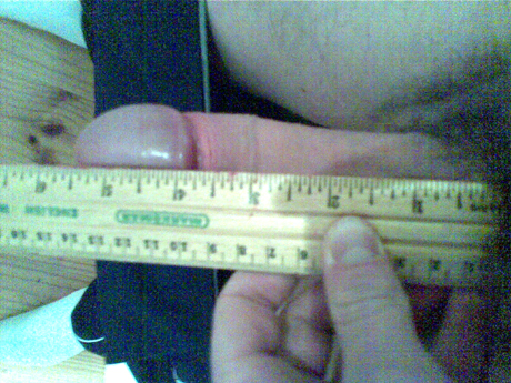 Erect 5.5 inches and ruler